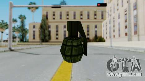GTA 3 Grenade for GTA San Andreas second screenshot