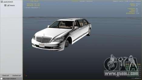 2011 Mercedes-Benz S600 Guard Pullman for GTA 5