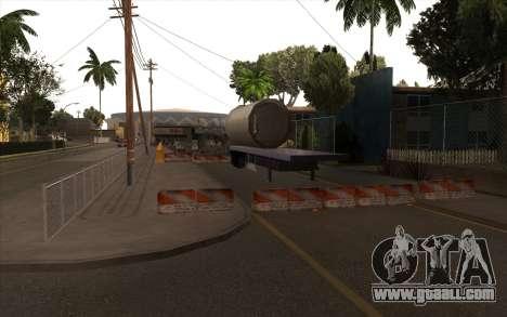 Repair work on Grove Street for GTA San Andreas forth screenshot