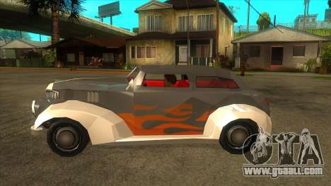 GTA LCS Thunder-Rodd for GTA San Andreas left view