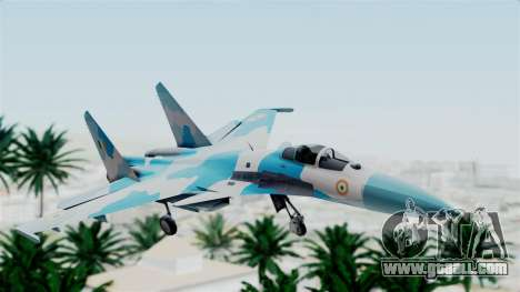SU-37 Indian Air Force for GTA San Andreas