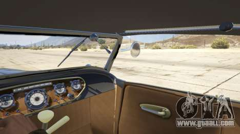 GTA 5 Ford T 1927 Roadster rear right side view