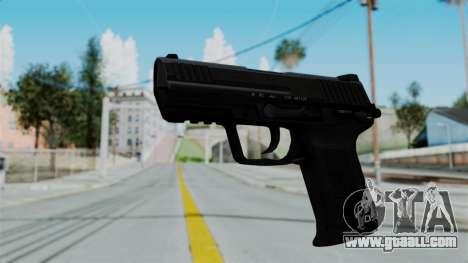 HK45 Black for GTA San Andreas