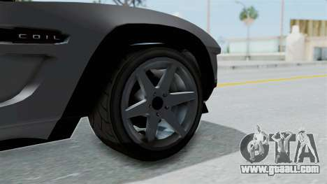 GTA 5 Coil Brawler Coupe IVF for GTA San Andreas back left view