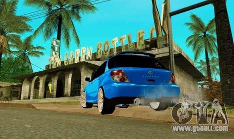 Subaru Impreza WRX STi Wagon 2003 for GTA San Andreas left view