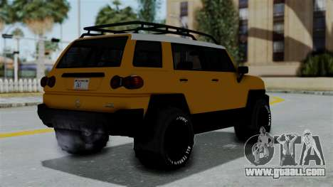 GTA 5 Karin Beejay XL Offroad for GTA San Andreas left view