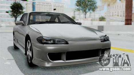 Nissan Silvia S15 Spec-R 2000 for GTA San Andreas