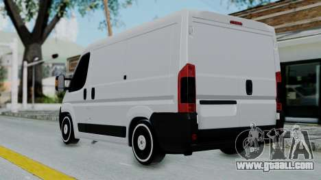 Fiat Ducato for GTA San Andreas left view