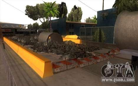 Repair work on Grove Street for GTA San Andreas third screenshot
