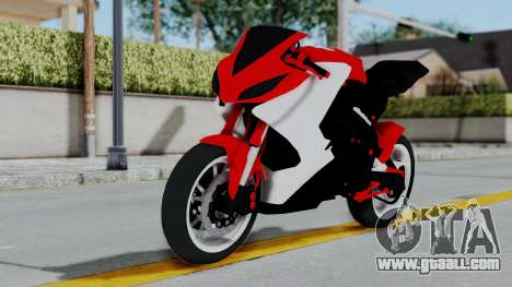 Yamaha YZF-R25 YoungMachine Concept for GTA San Andreas back left view