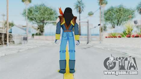 DBZBT3 - Super 17 for GTA San Andreas third screenshot