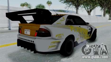 GTA 5 Karin Sultan RS Drift Big Spoiler PJ for GTA San Andreas engine