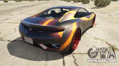 GTA 5 Jester Carbon Line rear left side view
