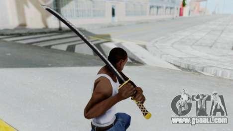 Samurai Sword v1 for GTA San Andreas third screenshot