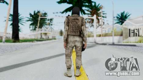 Crysis 2 US Soldier 8 Bodygroup A for GTA San Andreas third screenshot