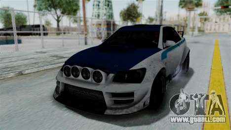 GTA 5 Karin Sultan RS Rally PJ for GTA San Andreas