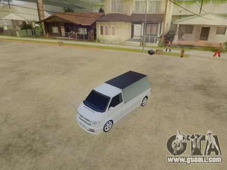 Volkswagen T4 Caravelle 35 Cup (1997) [Вездеход] for GTA San Andreas back view