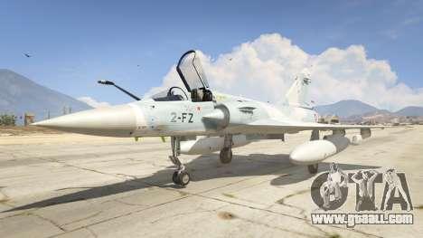 GTA 5 Dassault Mirage 2000-5