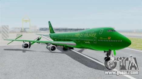 Boeing 747-100 Grove Street for GTA San Andreas