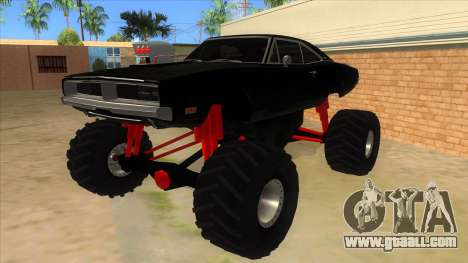 1969 Dodge Charger Monster Truck for GTA San Andreas
