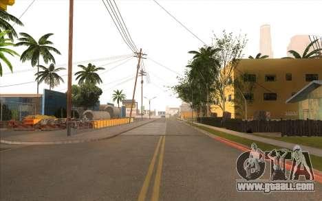 Repair work on Grove Street for GTA San Andreas