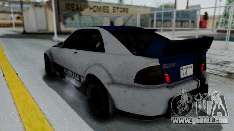 GTA 5 Karin Sultan RS Rally PJ for GTA San Andreas engine