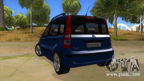 Fiat Panda V3 for GTA San Andreas back left view
