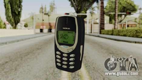 Nokia 3310 for GTA San Andreas