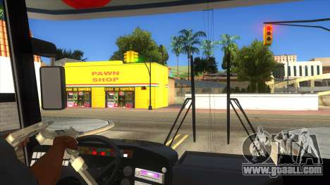 Dalin Ordinary for GTA San Andreas bottom view