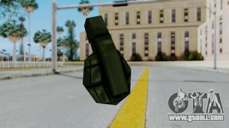 GTA 3 Grenade for GTA San Andreas third screenshot