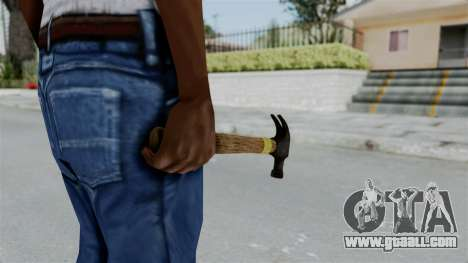 GTA 5 Hammer for GTA San Andreas third screenshot