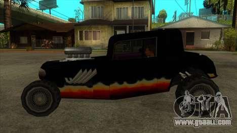 Diablos Hotknife for GTA San Andreas left view
