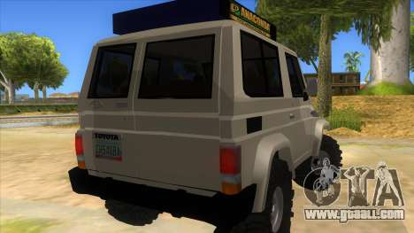 Toyota Machito 4X4 for GTA San Andreas right view