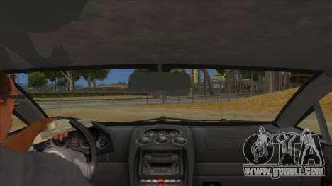 Lamborghini Gallardo 2012 Edition for GTA San Andreas inner view