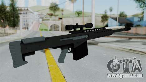 GTA 5 Heavy Sniper (M82 Barret) for GTA San Andreas third screenshot