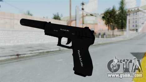 GTA 5 Combat Pistol for GTA San Andreas third screenshot