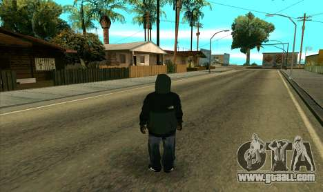 BALLAS1 for GTA San Andreas third screenshot
