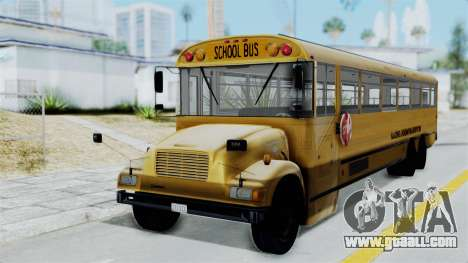 Bus from Life is Strange for GTA San Andreas