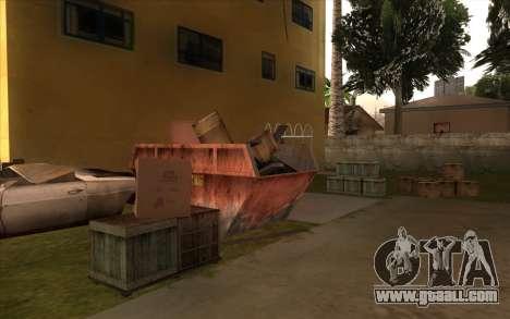 Repair work on Grove Street for GTA San Andreas tenth screenshot