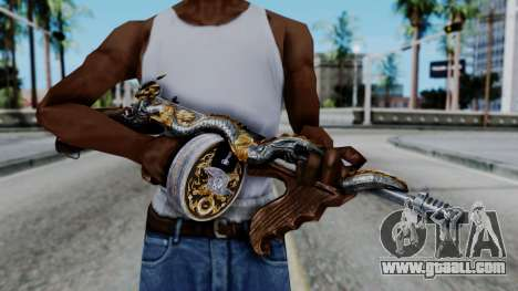 Dragon Thompson for GTA San Andreas