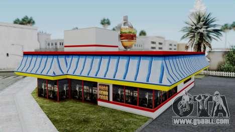 Burger King Texture for GTA San Andreas third screenshot