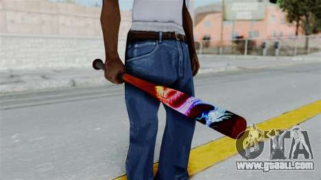 GTA 5 Baseball Bat 3 for GTA San Andreas