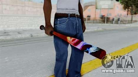 GTA 5 Baseball Bat 3 for GTA San Andreas
