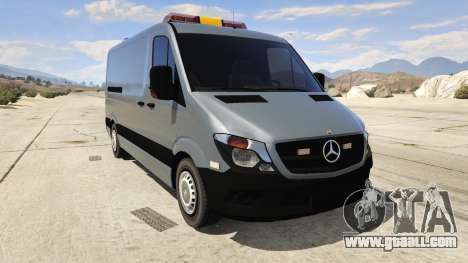 Mercedes-Benz Sprinter Worker Van for GTA 5