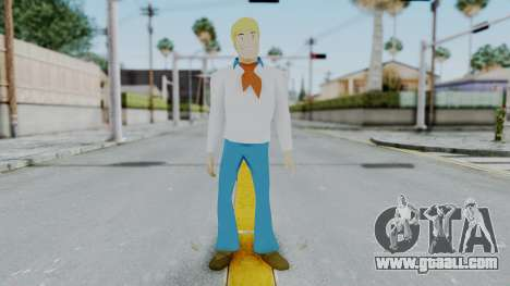 Scooby Doo Fred for GTA San Andreas second screenshot