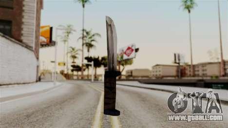 Batman Arkham City - Knife for GTA San Andreas