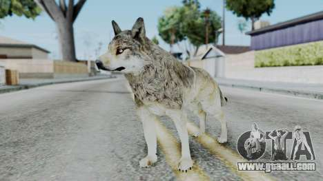 Wolf for GTA San Andreas second screenshot