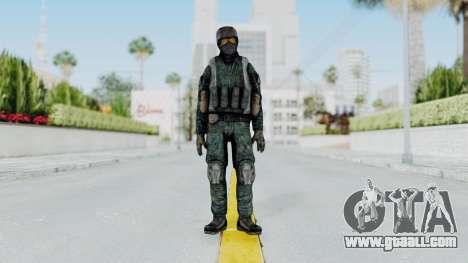 Counter Strike Source Custom Urban Model for GTA San Andreas second screenshot