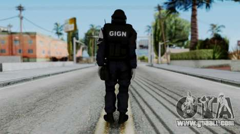 GIGN Gas Mask from Rainbow Six Siege for GTA San Andreas third screenshot