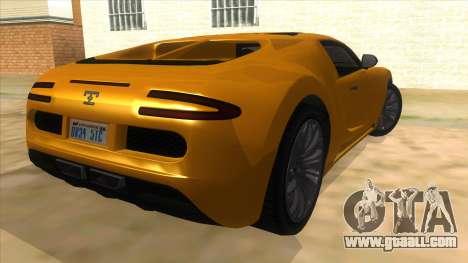GTA 5 Truffade Adder for GTA San Andreas right view